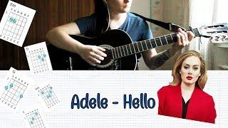 Adele - Hello НА ГИТАРЕ РАЗБОР