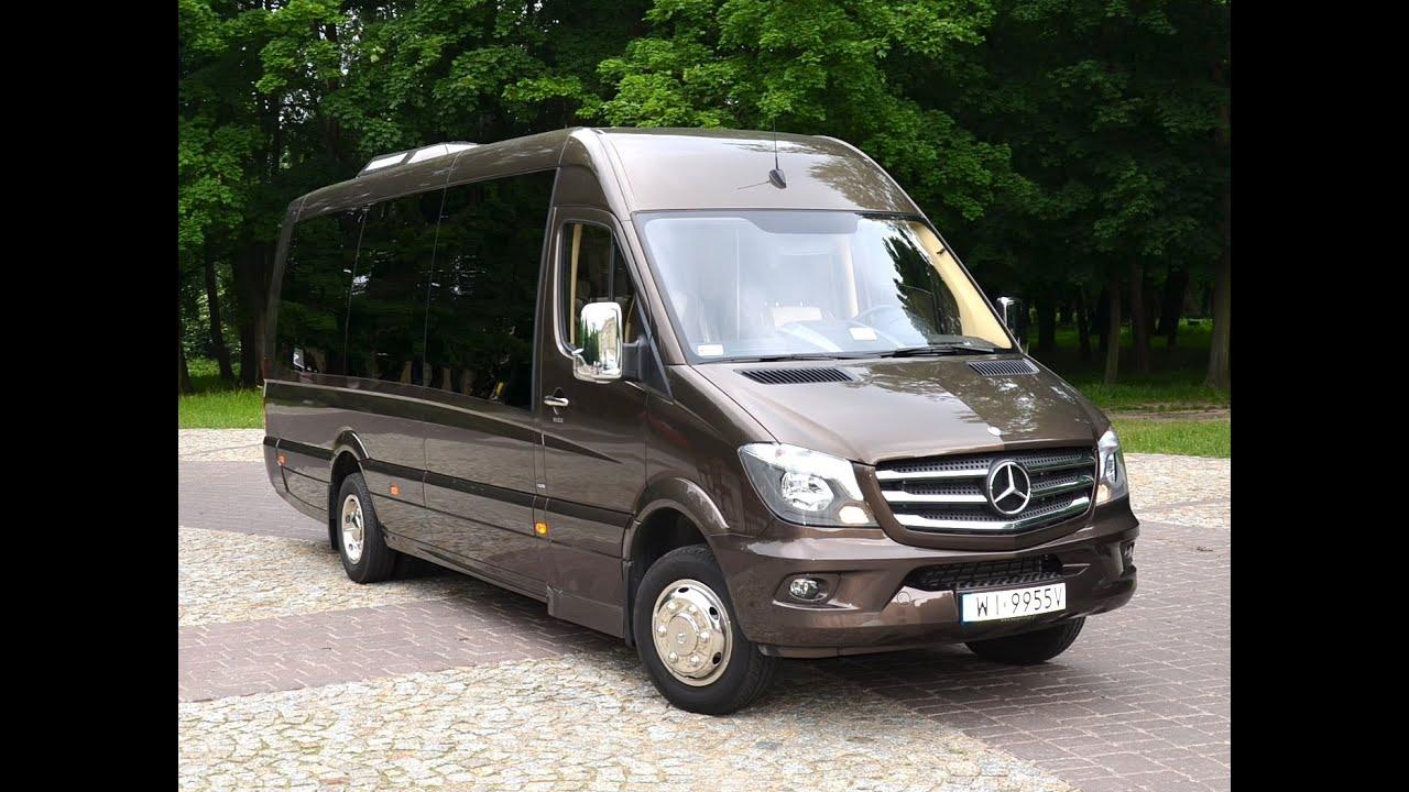 Mercedes Benz Van >> Mercedes Sprinter 519 CDI DAMAROBUS - YouTube