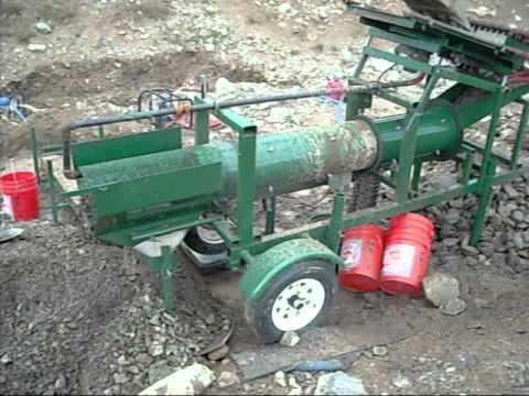 Gold MiningTrommel Test Plant - J.Farmer Mining