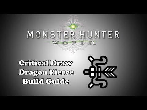 [MHW] Build Demonstration - Crit Draw Bow