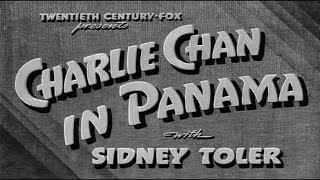 18   Charlie Chan In Panama 1940 Excellent
