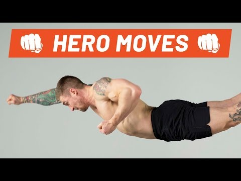Secrets to the Superman Pushup | Hero Moves | Men's Health