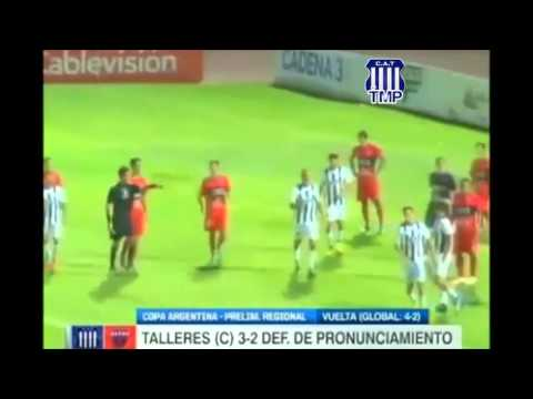Copa Argentina, fase regular: Talleres 3-2 Def de Pronunciamiento