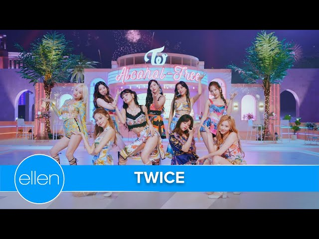 TWICE Performs 'Alcohol Free'