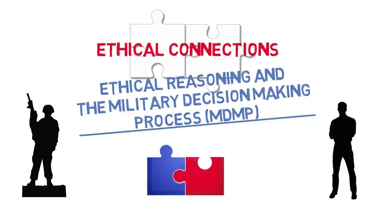 Ethical Connections: Ethical Reasoning and the Military Decision Making  Process (MDMP)