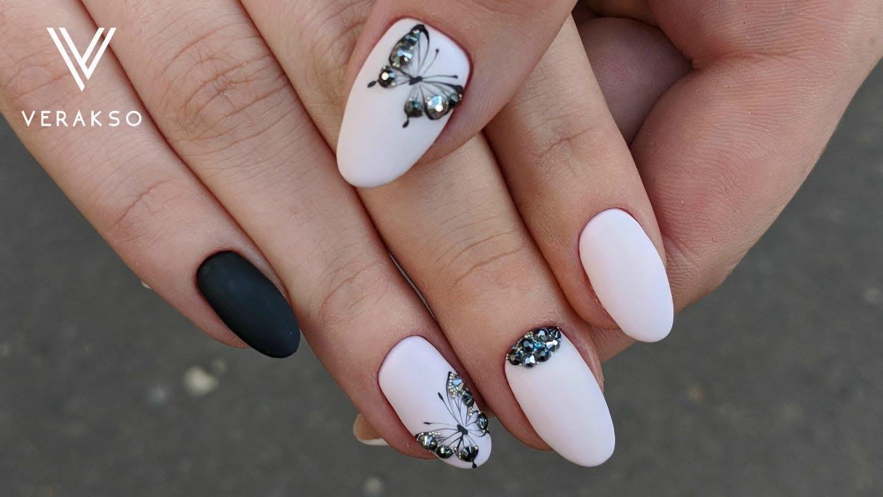 Ногти Дизайн Новинки Белый Френч