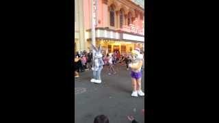 Gold Coast Movie World - Bugs Bunny parade