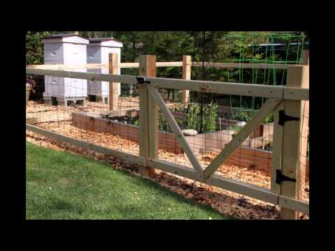 Lowes Garden Fence 2015 YouTube