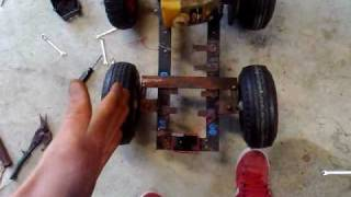 Mini Bar Stool Racer Build Part 1
