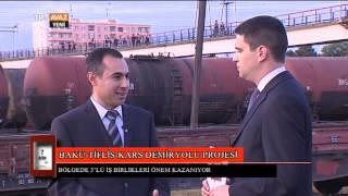 7. Gün (Bakü - Tiflis - Kars Demiryolu Projesi) - TRT Avaz