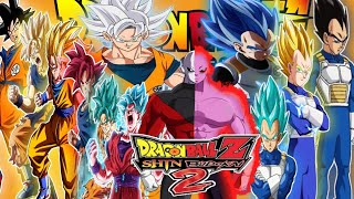 NEW DBS SHIN BUDOKAI 2 MOD SUPER ISO With New Mastered Ultra Instinct DOWNLOAD 2018