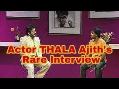 Thala Ajith Rare Interview|santhanam interviewing thala Ajith