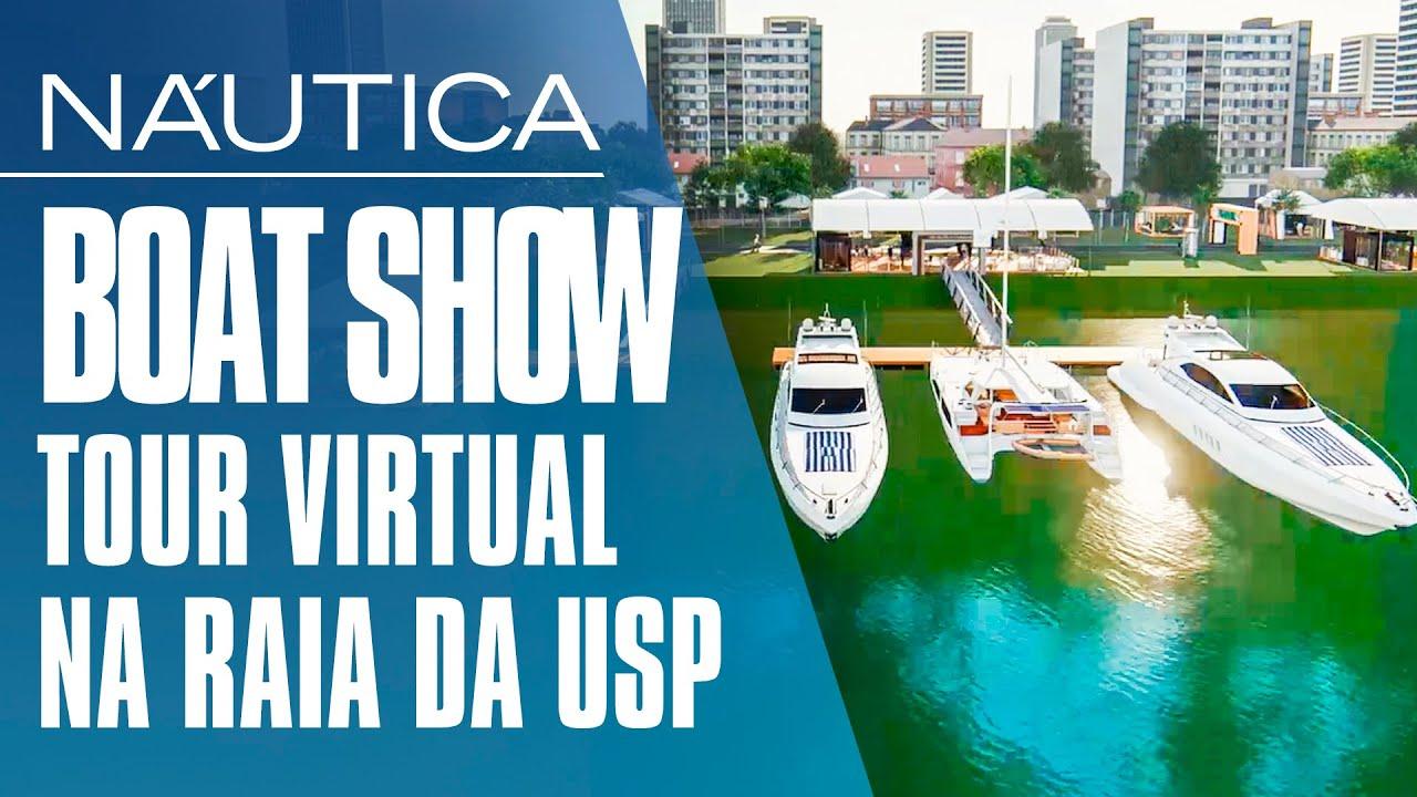 TOUR VIRTUAL: como será o São Paulo Boat Show 2020 | NÁUTICA