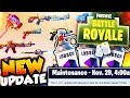NEW FORNITE UPDATE 1.31 // NEW SMOKE GRENADES // NEW WEAPONS! (Fortnite Battle Royale)