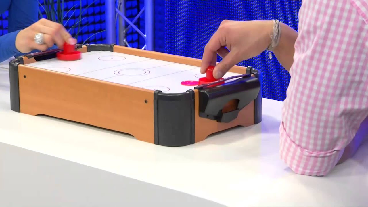 Playtastic Mini Air Hockey Im Tischformat   YouTube