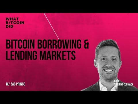 Bitcoin Borrowing & Lending Markets with Zac Prince