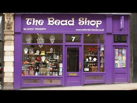 Amid the Beads at The Bead Shop Nottingham Ltd
