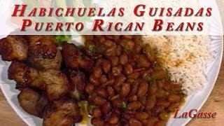 Lagasse - Puerto Rican Beans Recipe - Habichuelas Guisadas