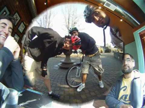 Biking in Berkeley Hills - GoPro HD photo montage