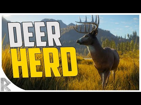 THE BIGGEST DEER HERD EVER! - theHunter: Call of the Wild #6