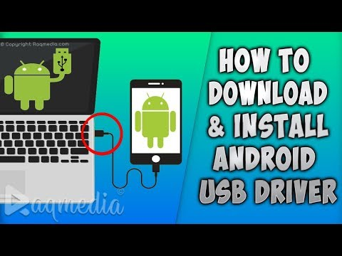 How To Install Android USB Driver On PC