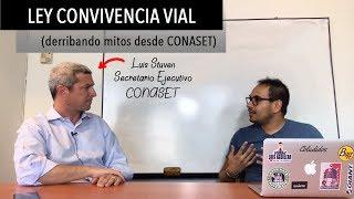 EXPLICANDO LA LEY DE CONVIVENCIA VIAL - CONASET