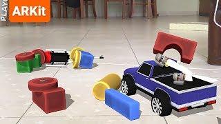 Aire de jeux AR - Physique de la sandbox de simulation ARKit jeu