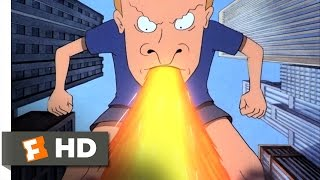 Beavis and Butt-Head Do America (8/10) Movie CLIP - Buttzilla (1996) HD