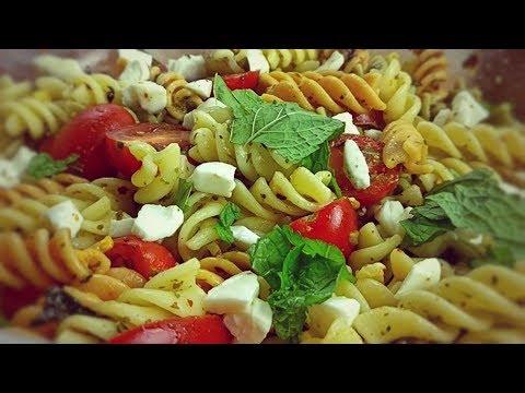 Rainbow Twirl Pasta Salad - Pasta Salad - Quick Pasta Salad - Easy Pasta Salad
