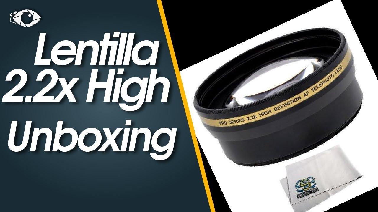 Unboxing 03 Lentilla 22x High Definition Af Telephoto Lens