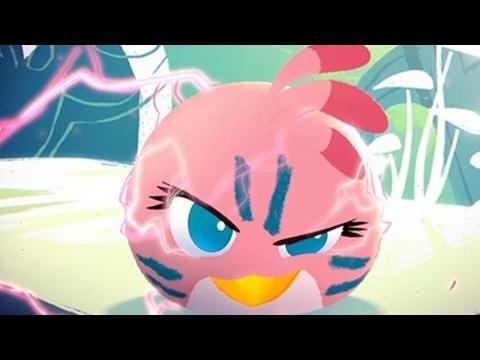 Обзор игры Angry Birds Stella (Злые Птички: Стелла) Версия для Девочек