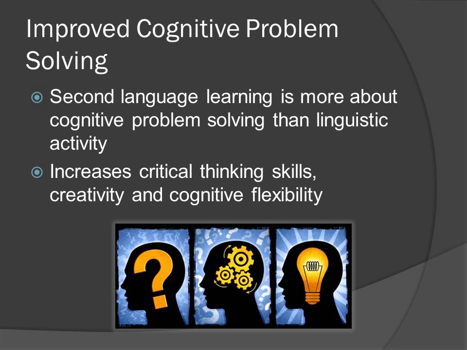 conclusion for benefits of learning english as a second language Challenges for ells in reading english language learners face many obstacles when reading literature in english  challenges for ells in content area learning.