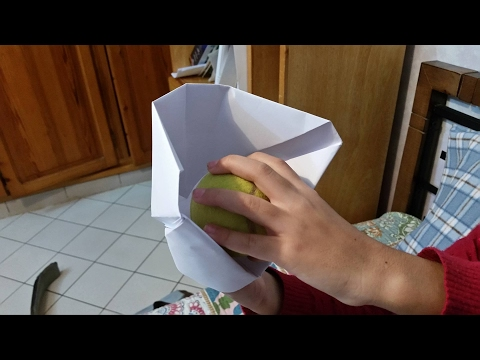 EASY ORIGAMI Baseball Glove HD 2017