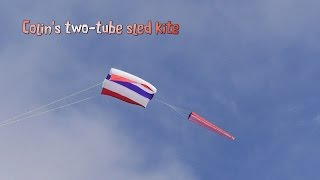 Colin's Two Tube Sled Kite
