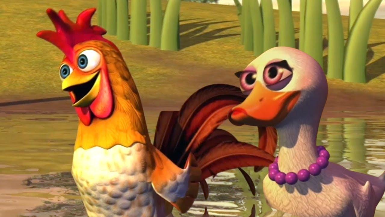 Download O Galo e a Pata | O Reino das Crianças | canções da fazenda | Canções dos miúdos | Kids Tv Português