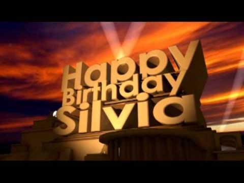 Happy Birthday Sylvia Cake