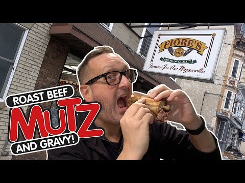 Fiore's Hoboken Roast Beef MUTZ & Gravy!
