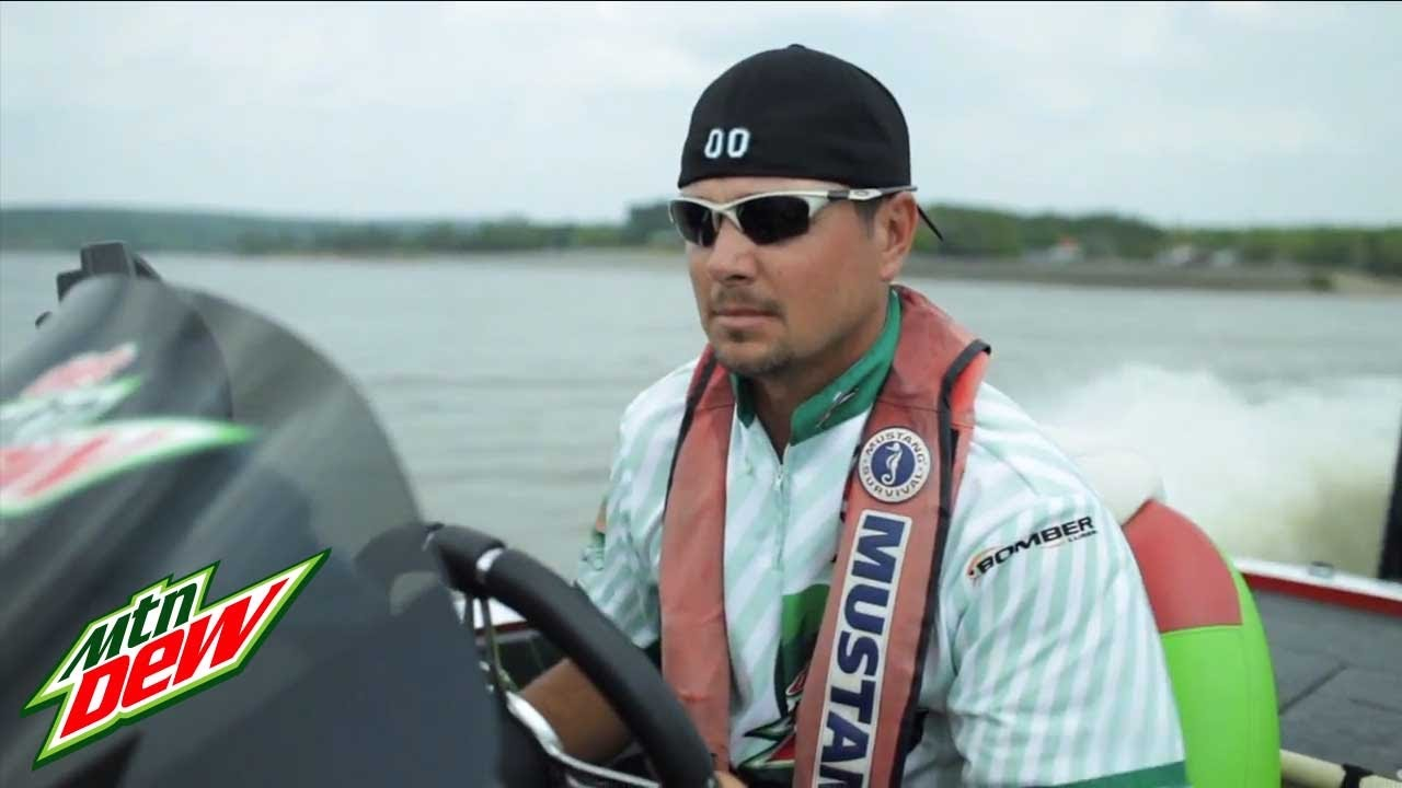 fishing w jason christie mountain dew commercial youtube
