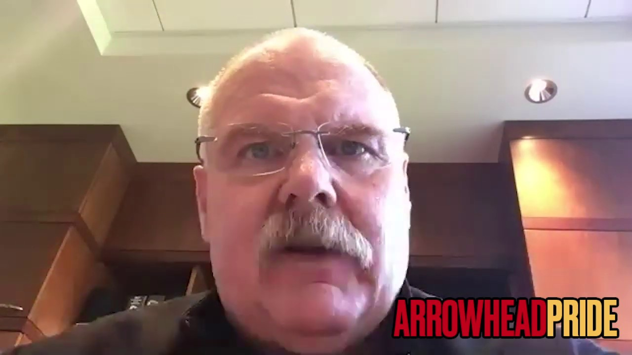 Passionate Andy Reid supports Patrick Mahomes and Tyrann Mathieu in Black Lives Matter efforts