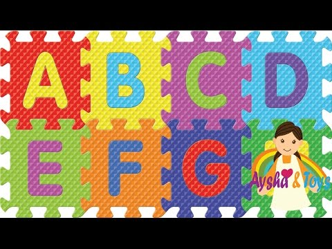 ABC and 123 Alphabet Letter and Number Foam Puzzle Mat