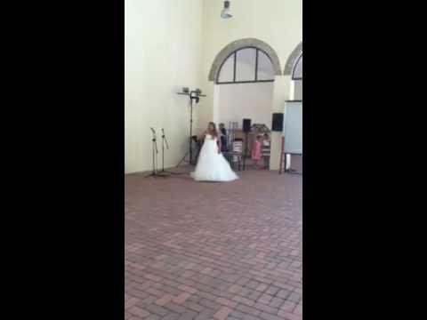 Sposa dedica marito canzone romantica Mina Mi sei scoppiato dentro al cuore all' improvviso!Amore!