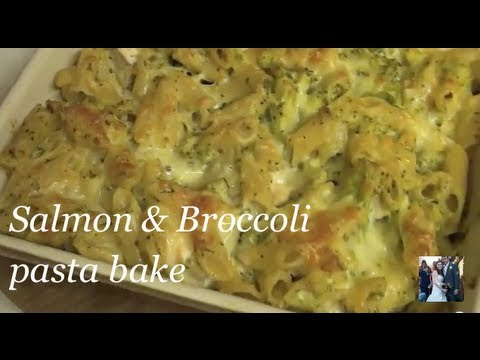 Salmon & Broccoli Pasta Bake