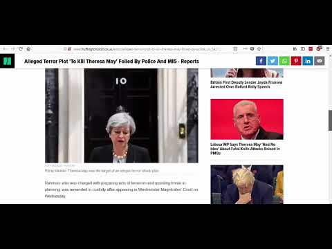 Terror Plot To Kill Theresa May Another False Flag