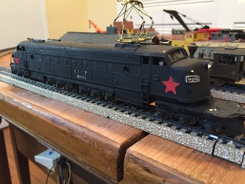 Rare HO Locomotive EF4 EP4 Little Joe Stalin Milwaukee Boxcab Electric