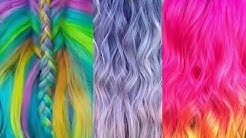 Colorful Dyeable Clip-in/Tape-in/Ponytail Hair extensions OMGQueenHair.com