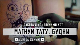 Дакота и удивленный кот  - «Магнум тату. Будни» [Сезон 5, серия 13]