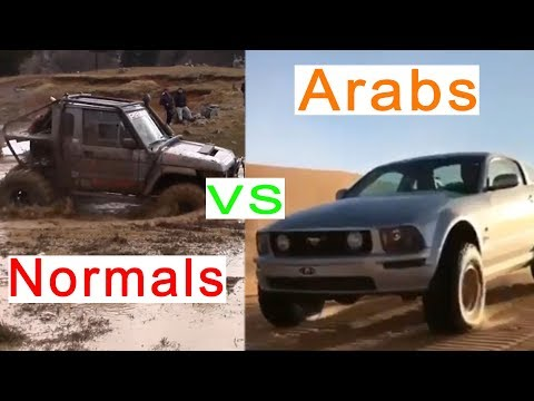 Arab Drivers vs Rest of the WORLD Drivers(Part 4)| Fail and Win Compilation
