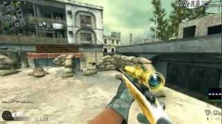 cod4 custom golden guns m40 r700 ak74 ak47 m4