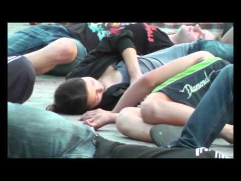 Видео: Флешмоб Начало войны