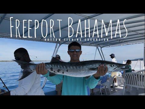 Freeport Bahamas Bottom Fishing Excursion